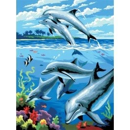 Royal & Langnickel Junior Painting By Numbers – Dolphins