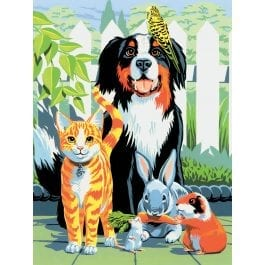 Royal & Langnickel Junior Painting By Numbers – Family Pets