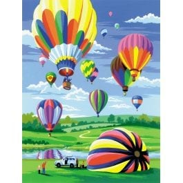 Royal & Langnickel Junior Painting By Numbers – Hot Air Balloons