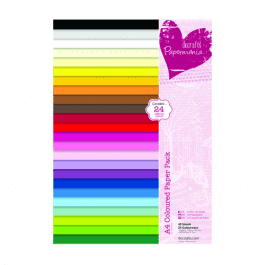 Papermania A4 Coloured Paper Pk 48