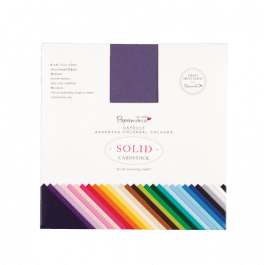 Papermania 6″ x 6″ Solid Premium Cardstock Colossal Pk 75