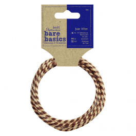 Papermania Bare Basics Jute Wire Two Tone 3m Roll