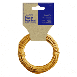 Papermania Bare Basics Craft Wire 10m Roll