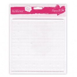 Papermania 6.5″ x 6.5″ Clear Stamp Block