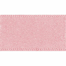 Berisfords Double Faced Satin Ribbon 15mm Pink