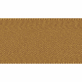 Berisfords Double Faced Satin Ribbon 3mm Old Gold