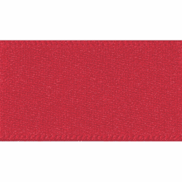 Berisfords Double Faced Satin Ribbon 3mm Red