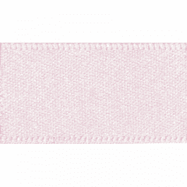 Berisfords Double Faced Satin Ribbon 5mm Pale Pink
