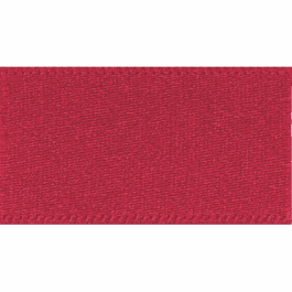 Berisfords Double Faced Satin Ribbon 35mm Scarlet Berry