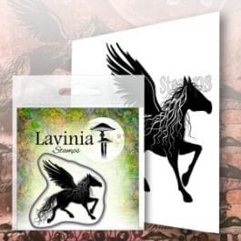Lavinia Clear Polymer Stamp Sirlus