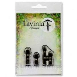Lavinia Clear Polymer Stamp Small Dwellings