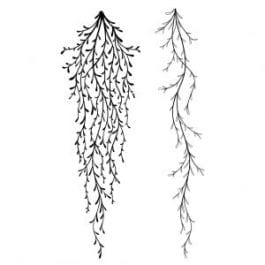 Lavinia Clear Polymer Stamp Spanish Moss
