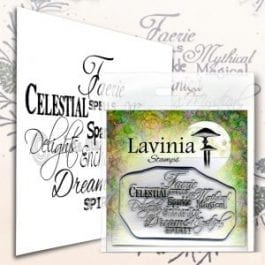 Lavinia Clear Polymer Stamp Faerie Spells