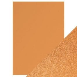 Craft Perfect Pearlescent Card A4 250gsm Cosmic Copper Pk 5