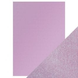 Craft Perfect Pearlescent Card A4 250gsm Gleaming Lilac Pk 5