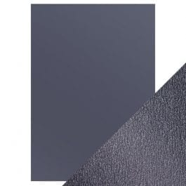 Craft Perfect Pearlescent Card A4 250gsm Navy Dazzle Pk 5