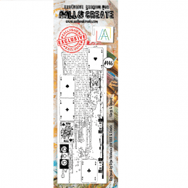 AALL & Create Clear Stamp Border Kings & Queens
