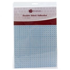 Woodware Double Sided A4 Sheets Pk 4