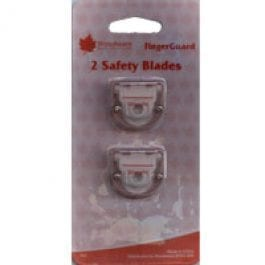 Woodware Twin Pack of Straight Blades For T800/T80002 Fingerguard Trimmer