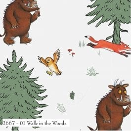 Craft Cotton Company The Gruffalo Printed Cotton 110cm Walk in the Woods