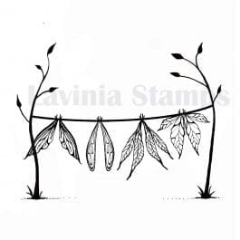 Lavinia Clear Polymer Stamp Wet Wings