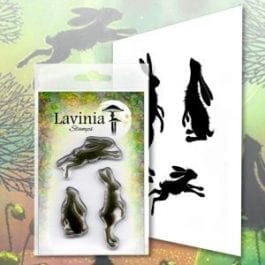 Lavinia Clear Polymer Stamp Whimsical Hares