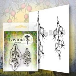 Lavinia Clear Polymer Stamp Winter Berries