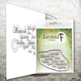 Lavinia Clear Polymer Stamp Words of Spring