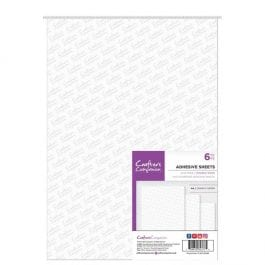 Crafter's Companion A4 Double-Sided Adhesive Sheets Pk 6