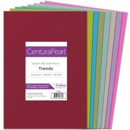 Centura Pearl A4 Card Pack 310gsm Pk 40 – Trends