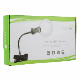 PURElite Magnifying LED Lamp Clip On