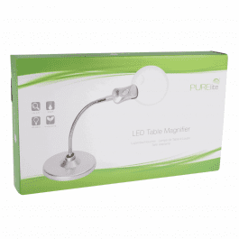 PURElite Magnifying LED Table Lamp
