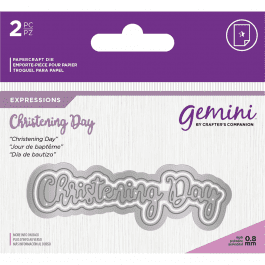 Gemini Die – Expressions – Christening Day
