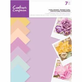 Crafter's Companion – Flower Forming Foam – Floral Bouquet Pk 7
