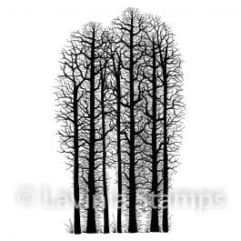 Lavinia Clear Polymer Stamp Forest Scene