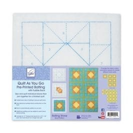 June Tailor Quilt As You Go Fair and Square Block