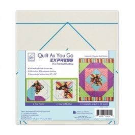 June Tailor Quilt as You Go Express Sophisticated Stripes Quilt