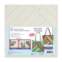 June Tailor Quilt As You Go Tori Tote Bag
