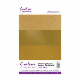 Crafter's Companion A4 Luxury Cardstock Gold Pk 30
