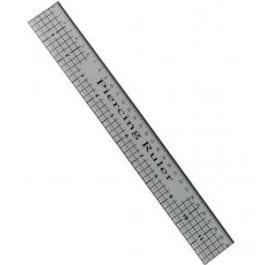 Creative Expressions Piercing Ruler 12″