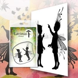 Lavinia Clear Polymer Stamp Rory & Darcy Set