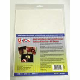 Stix2 Iron On Adhesive for Various Materials 2 x A4 Sheets