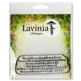 Lavinia Clear Polymer Stamp Snow Falls