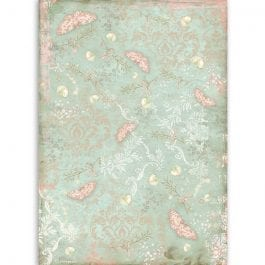 Stamperia Rice Paper A4 Butterfly Pk 1
