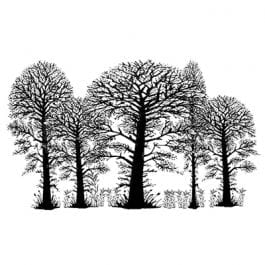 Lavinia Clear Polymer Stamp Trees