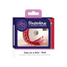 Threaders Zips On A Roll – Red