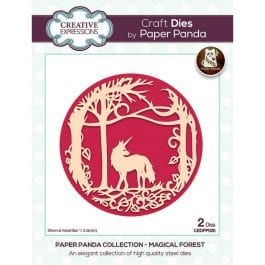 Creative Expressions Paper Panda Die Magical Forest
