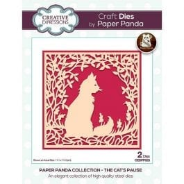 Creative Expressions Paper Panda Die The Cats Pause