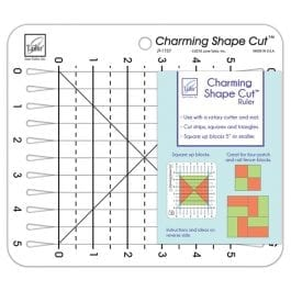 June Tailor Charming Shape Cut Ruler 5in x 5in