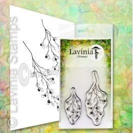 Lavinia Clear Polymer Stamp Wild Berry